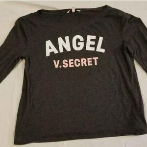 Angel v. Secret Victoria's gray Shirt Size small